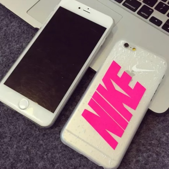 on sale 59477 fdbba Pink Nike hard case for iPhone 6