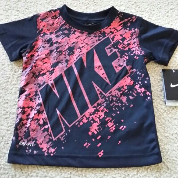 7e54f80008 Nike Shirts & Tops | Boys Toddler Shirt Sz 2t Drifit Nwt | Poshmark