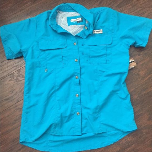 50 off magellan tops magellan fishing shirt from hailey for Magellan fishing shirt