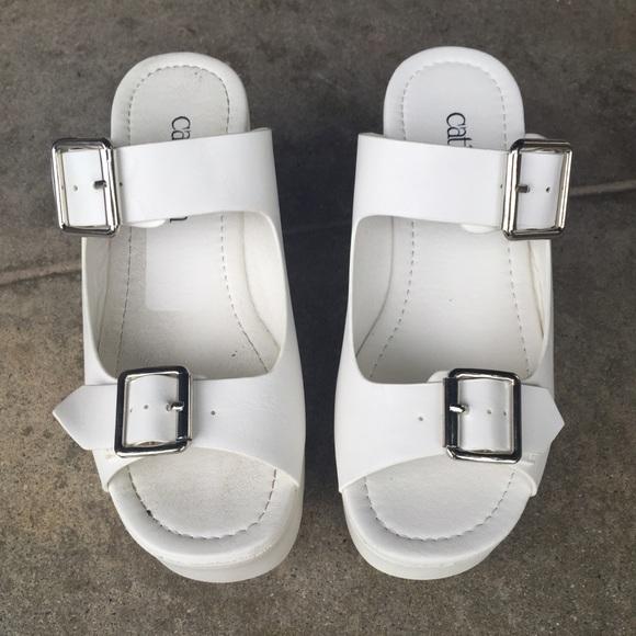 82783d482abd White slip-on 90s platforms