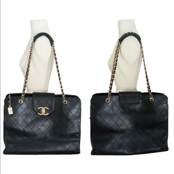 397a49658e8b CHANEL Handbags - Chanel Quilted Turnlock Bag
