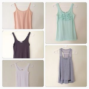 Forever 21 Tops - Tank Top Bundle Mint Pink