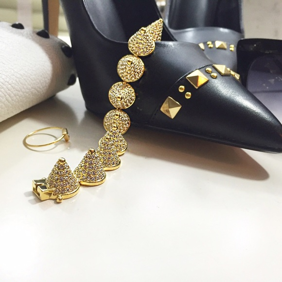 36 eddie borgo jewelry eddie borgo pave cone spike