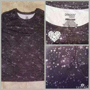 Danskin Tops - Danskin 4X 4XL Nylon Bubble Tshirt