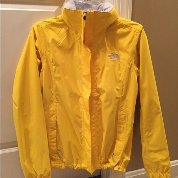 56% off The North Face Jackets & Blazers - Yellow North Face Rain ...