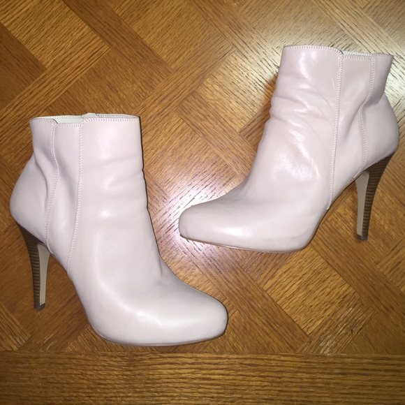 62% off Nine West Boots - Nine West Size 11 Leather Winter White ...