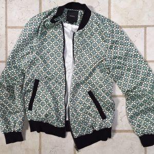 Geo Bomber Jacket