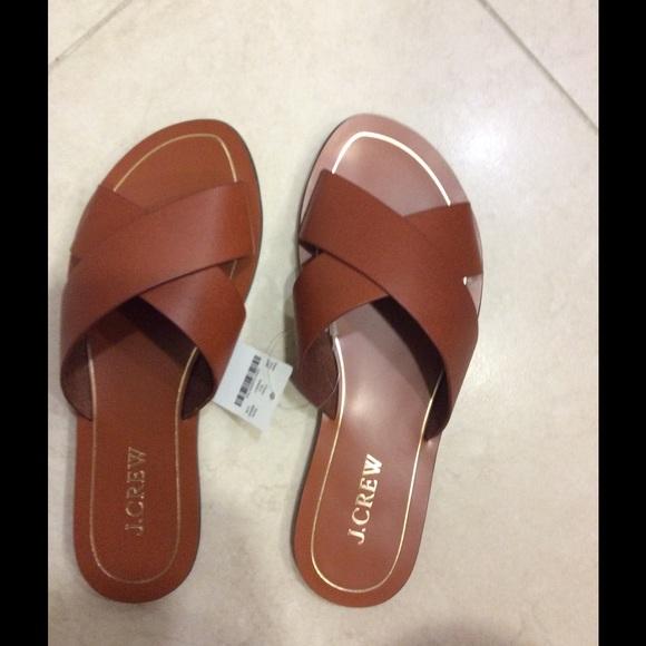 e83bead79a0cc J. Crew Cyprus Leather Sandals