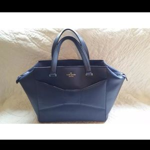 Kate Spade 2 Park Avenue Beau Bag Navy