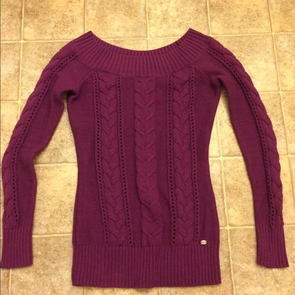 89% off Guess Sweaters - 🎉sale🎉Guess purple sweater (xs) from ...