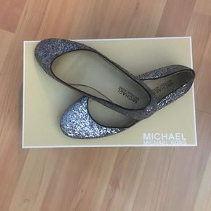 Michael Kors sequined flats