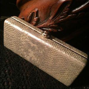 Deux Lux Handbags - Gold Deux Lux Clutch