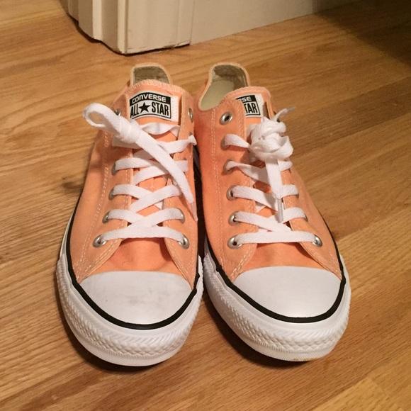 Converse Shoes - Peach converse all stars size 10. NWT 5565cefad