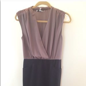Brown and black Bcbg max and Cleo dress