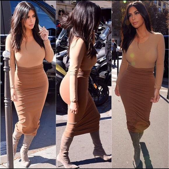 9d597edf1 Naked Wardrobe Skirts | Lust Midi Skirt As Kim Kardashian | Poshmark