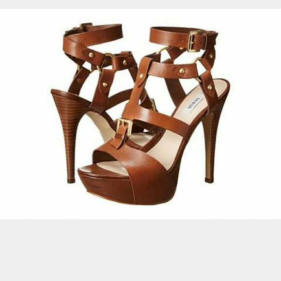 ff502c2653d Guess Shoes - Guess Ormandi Brown platform sandals