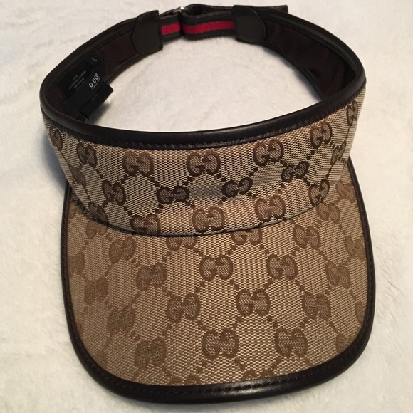 83dc1315 Gucci Accessories | Tennis Hat Original Gg Canvas | Poshmark