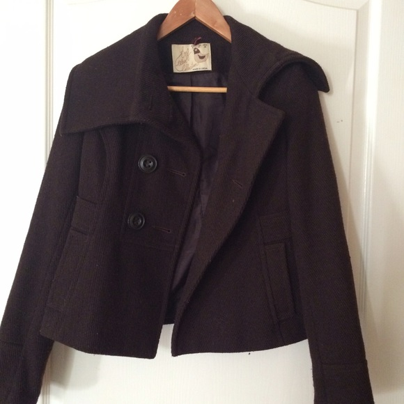 64% off Zara Jackets & Blazers - // Sold// Zara TRF dark brown
