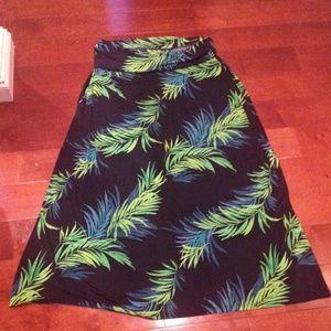 Dresses & Skirts - NEW W/TAGS GORGEOUS FOLD DOWN WAIST, MAXI SKIRT