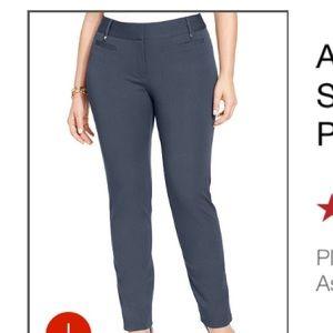 e8b8429d1567b Alfani Pants - Alfani plus size skinny pants