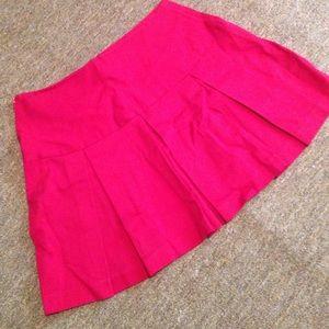 Star City Dresses & Skirts - Red pleaded skirt