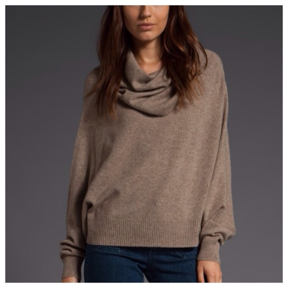 88% off Joie Sweaters - Joie cowl neck poncho sweater in cashmere ...