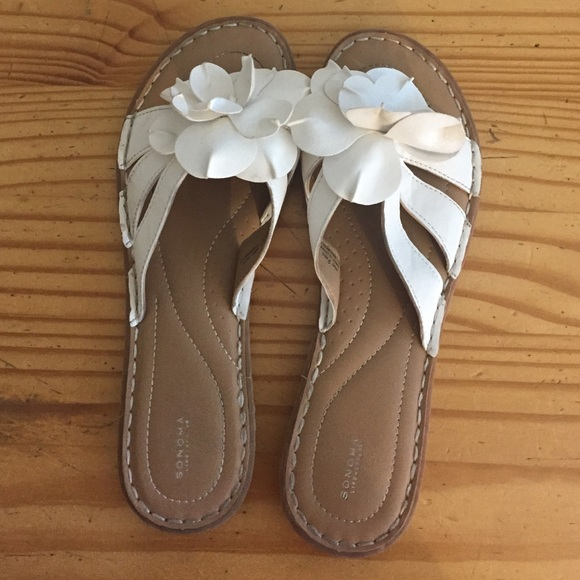 Sonoma shoes white flower sandals poshmark white flower sandals mightylinksfo
