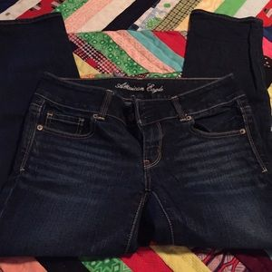 AE crop jeans!!!