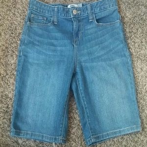 Old navy girls jean capris