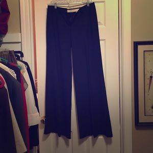 Black, dressy, wide-leg pants by Theory - Size 6