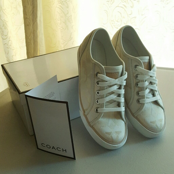 67 coach shoes coach white sneakers from s