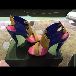 United Nude Eros Heels Berry Mix Size 5/35