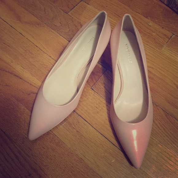 dd054df0e7972 Nine West Shoes | Light Pink Low Heelsflats By | Poshmark