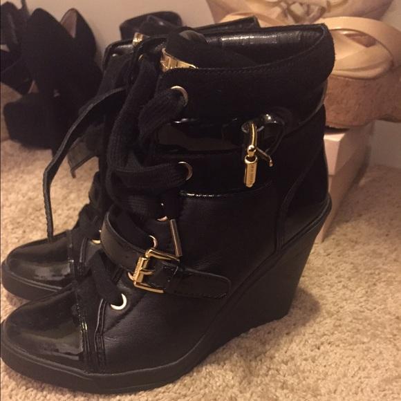 2193999e0a4 Michael Kors Skid Wedge Sneakers