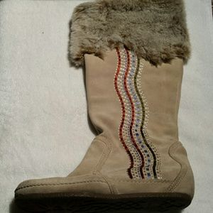 ALDO Leather Winter Boots