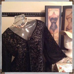 Vintage - Black Lace Top ⭐️