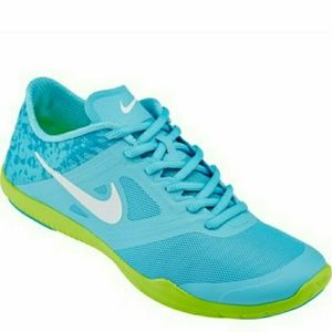 Turquoise And Lime Green Nike Shoe For Women  005881b8d0