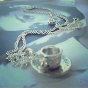 Jane Austen afternoon tea necklace
