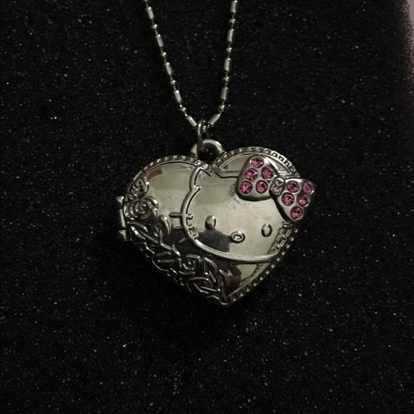 7d6c2e174 Jewelry | Hello Kitty Locket Necklace | Poshmark