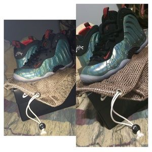 40 off nike shoes nike little foam posite one gone for Fish nike shoes