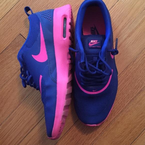 best sneakers 94b92 19033 nike air max thea pink blue