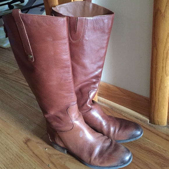 10e4a476cb2373 Sam Edelman Penny Wide Calf Boots - Whiskey. M 563b64a47f0a051341004c80