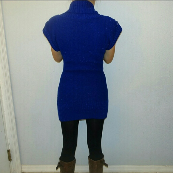 Heart n Crush - Royal blue sweater dress/tunic from Thuy's closet ...