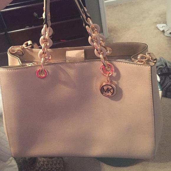 Michael Kors Bags   Brand New Purse In Blush   Poshmark b9c287147b