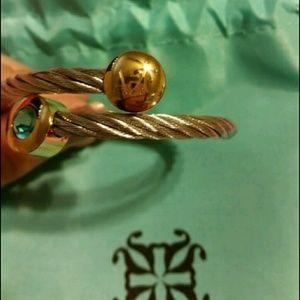 Jewelry - Blue Hazel Rustic Cuff