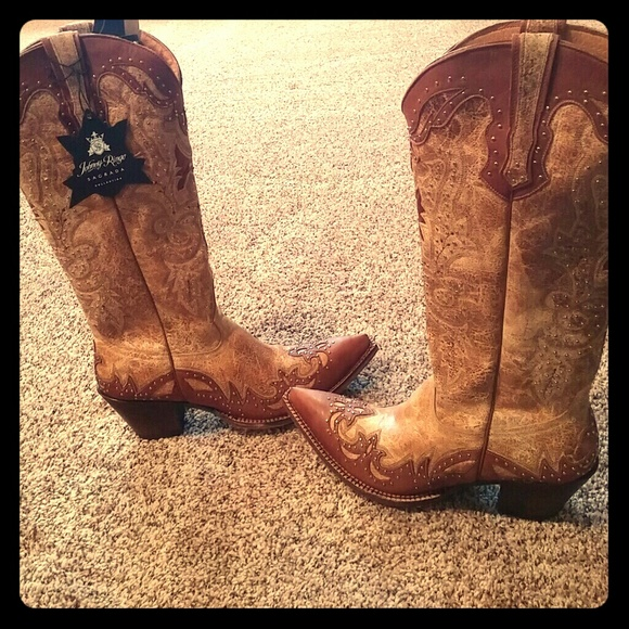 ba2f972d7d1 Johnny Ringo Sagrada women's cowboy boots NWT