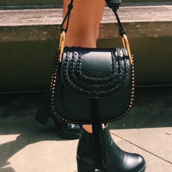 4 Off Chloe Handbags Chloe Hudson Leather Bag Black