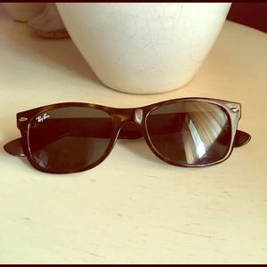 Ray-Ban Accessories - Authentic Brown Ray Ban wayfarer