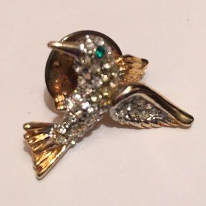 Vintage Hummingbird Pin