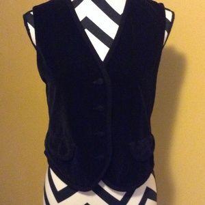 Other - Velvet vest Sz.small petite